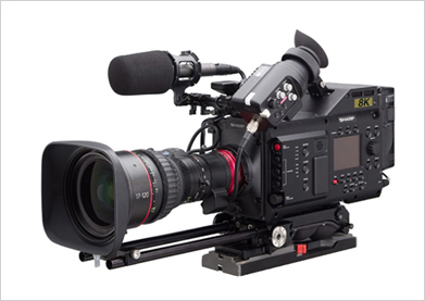 8C-B60A 8K Professional Camcorder