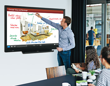 A Smart Display That's Built to Enhance Communication