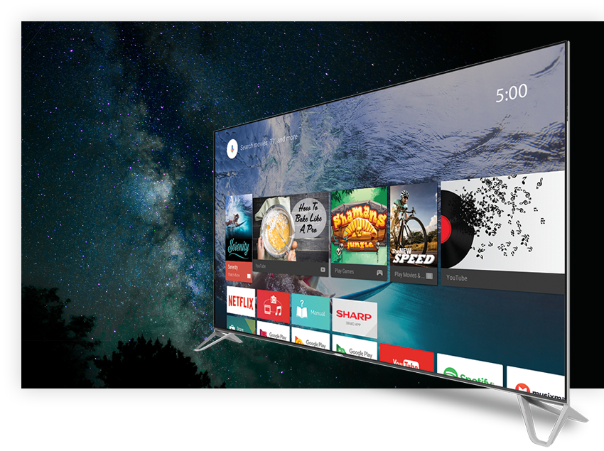 Entertainment Tailored For You Android TVTM Brings Great Content Apps And Games To Your TV