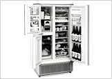 Three-Door Refrigerator with Separate Vegetable Compartment <SJ-3300X>