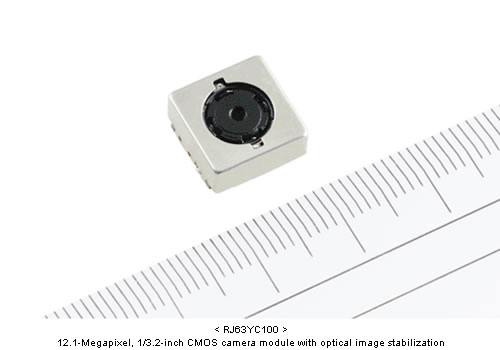 Micro-cámara RJ63SC100 de 12 Mpix de SHARP Corp.