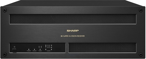 Sharp advanced wideband satellite digital broadcast receiver