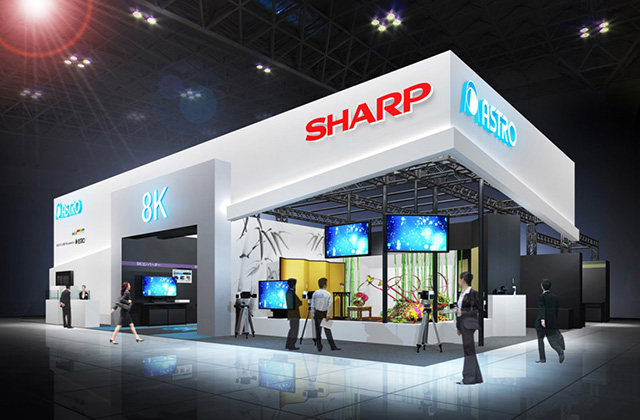 Sharp at International Broadcast Equipment Exhibition 2017 (Inter BEE 2017)
