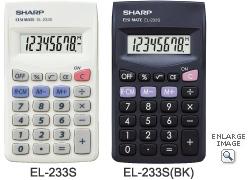 Sharp EL 233 S Taschenrechner