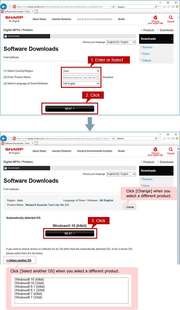Tips | Network Scanner Tool Lite | Sharp Digital MFPs
