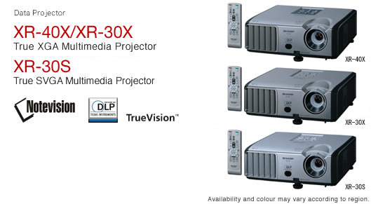 data projectors sharp rh sharp world com  xr30x sharp projector lamp