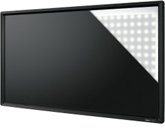 Uniformly Bright Screen with Low Energy Consumption