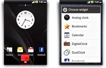 Customized Home Screen