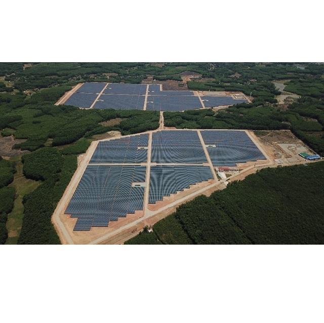 0b062e5dae June 5, 2019Sharp Builds Mega Solar Power Plant in Quang Ngai Province,  Vietnam